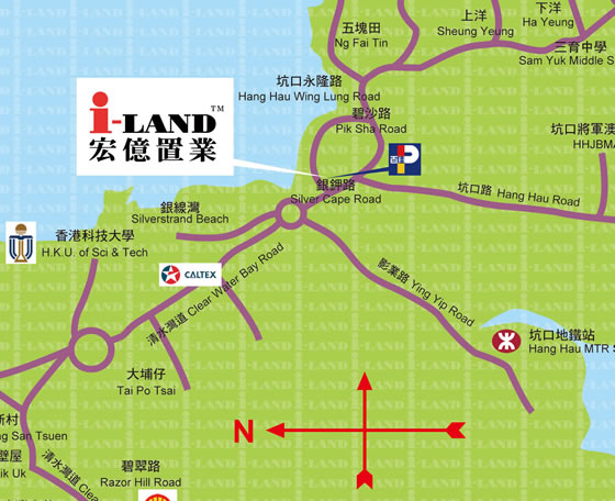 Clear Water Bay Branch - i-LAND Property Consultants - 宏億置業